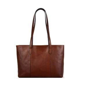 Kožená taška Santo Croce M6803 Brown