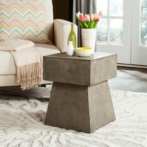 Betonový zahradní stolek vhodný do exteriéru Safavieh Exeter