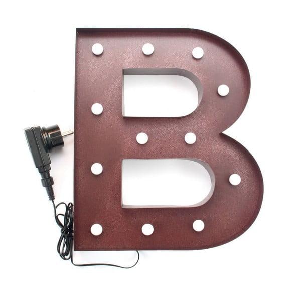 Sada 3 dekorativních světelných písmen BAR