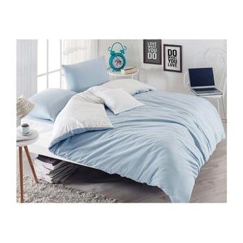 Lenjerie de pat cu cearșaf Permento Mesiya, 200 x 220 cm de la EnLora Home