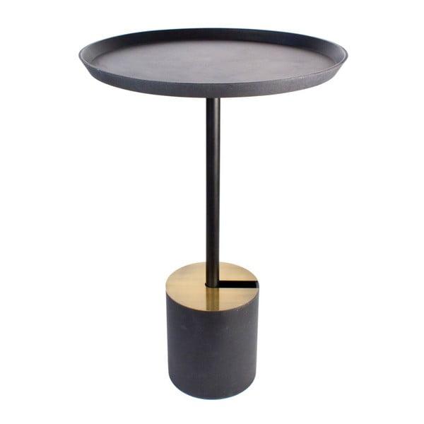 Stolek Coffe Scandi Black, 49x70 cm