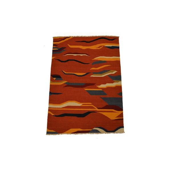 Ručně tkaný koberec Kilim Mrinal, 140x200cm