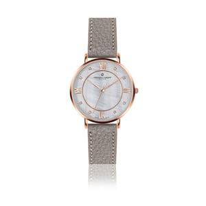 Dámské hodinky s koženým páskem ve šedé barvě Frederic Graff Liskamm