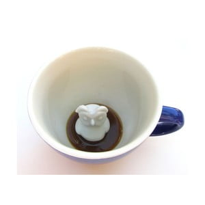 Hrnek Owl, 445 ml, kobaltově modrý