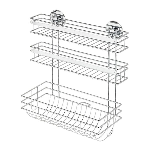 Turbo-Loc öntapadós konyhai papírtörlő- és fóliatartó, max. 40 kg - Wenko