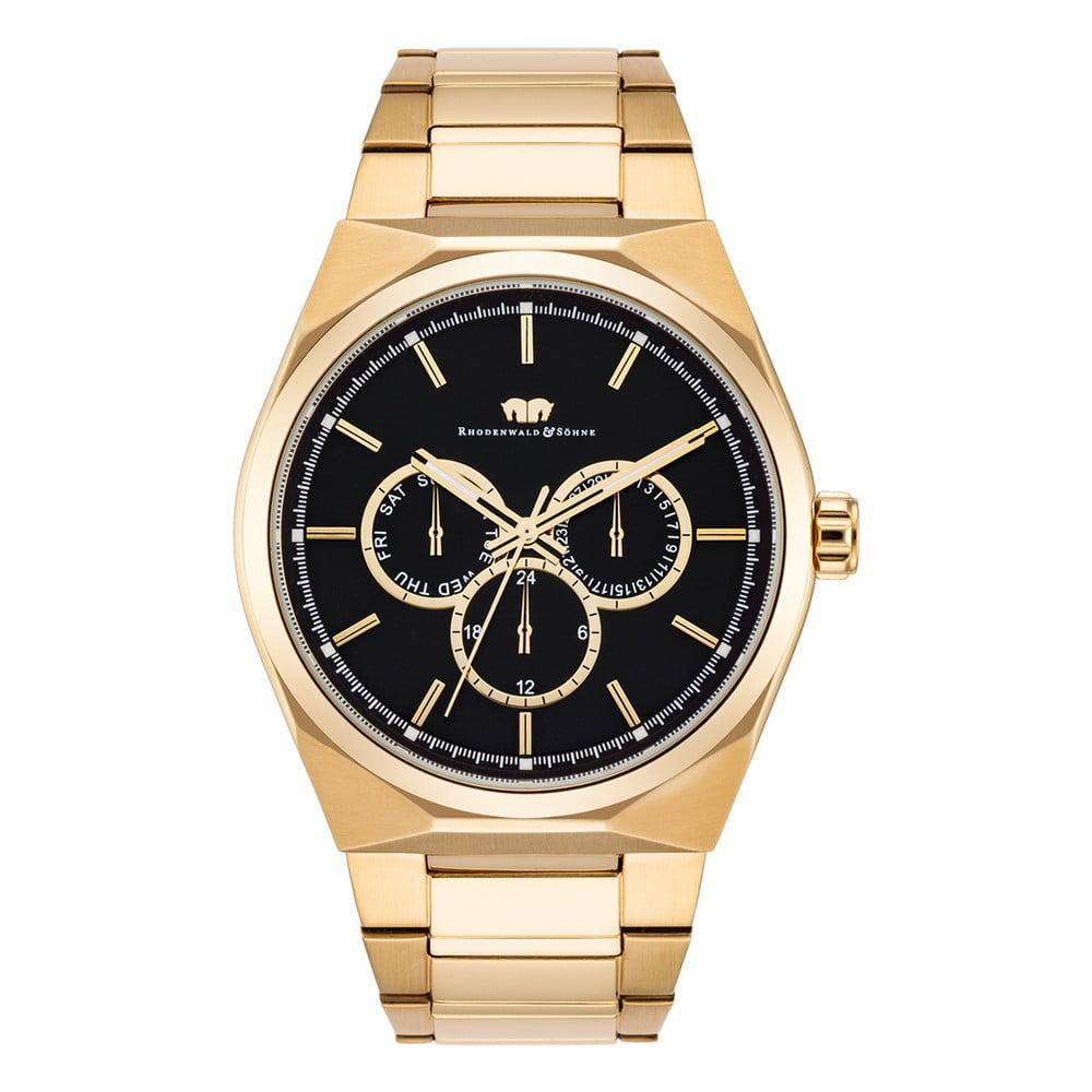 Pánské hodinky ve zlaté barvě Rhodenwald & Söhne Cooledge