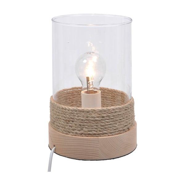 Dřevěná stolní lampa Natural