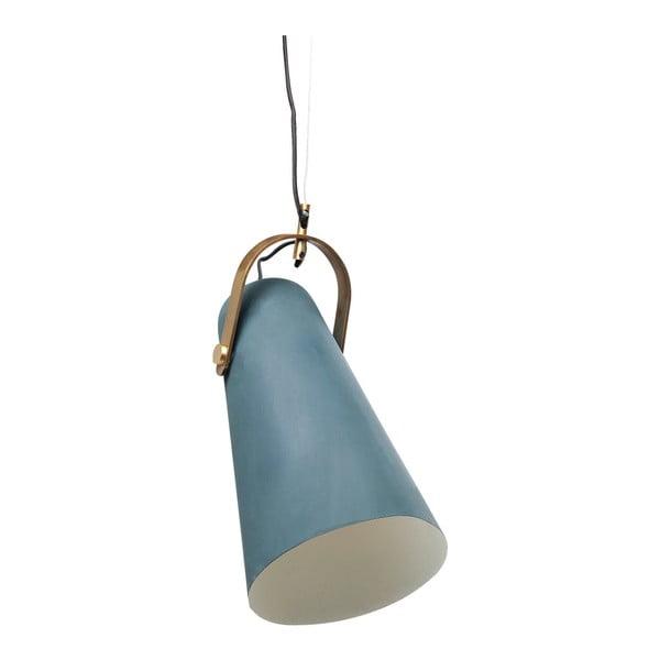 Modré závěsné svítidlo Kare Design Gentle Elegance