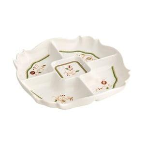 Servírovací talíř s vánočním motivem Brandani Tempo di Festa, délka26cm