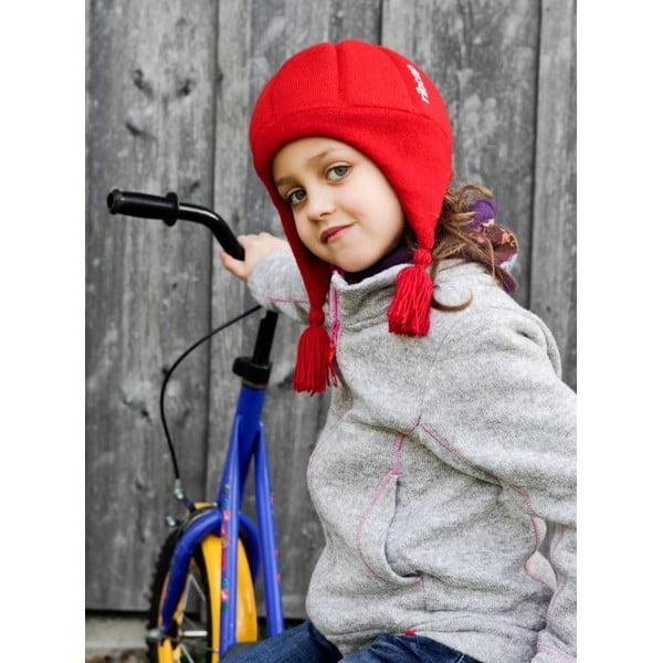 Dětská růžová čepice s ochrannými prvky Ribcap Chessy, vel. M