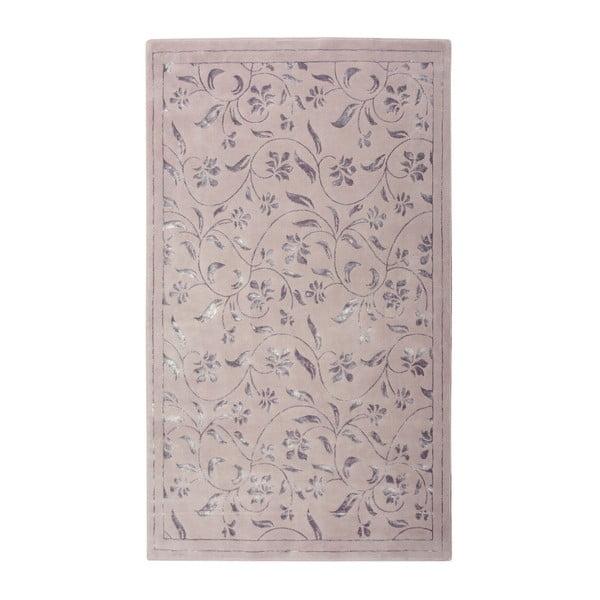 Fialový koberec Floorist Florist, 120x180cm