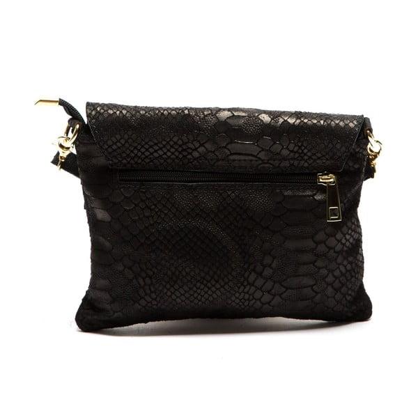 Černá kožená kabelka Sofia Cardoni Cira