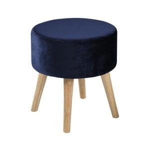 Modrá stolička Actona Sherman