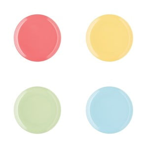 Sada 4ks talířů Tutti Frutti, 20 cm