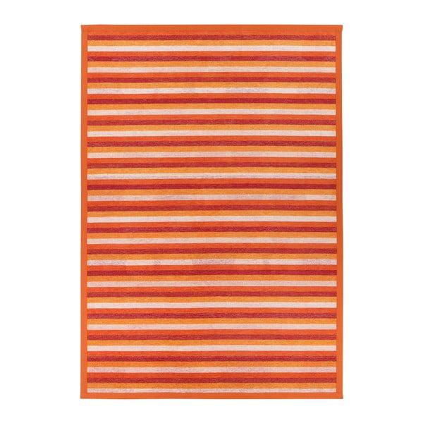 Covor reversibil Narma Veere, 70 x 140 cm, portocaliu