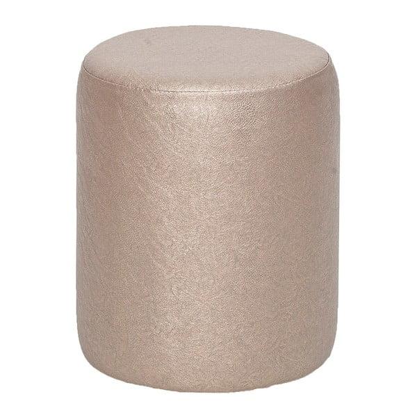 Kulatý puf Rodhio, metalíza