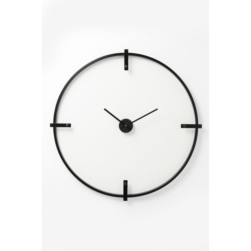 Nástěnné hodiny Kare Design Visible Time, ⌀ 91 cm