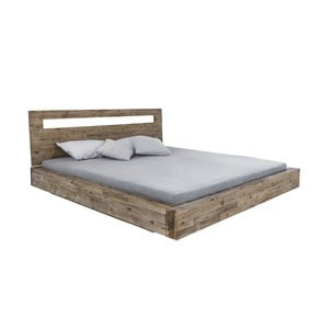 Dvoulůžková postel  z akáciového dřeva Woodking Marlon,180x200cm