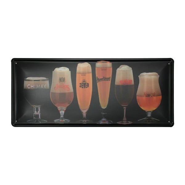 Cedule Beers, 20x30 cm