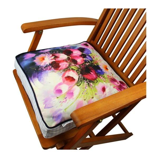 Pernă pentru scaun Gravel Arli, 42x42cm,cuumplutură