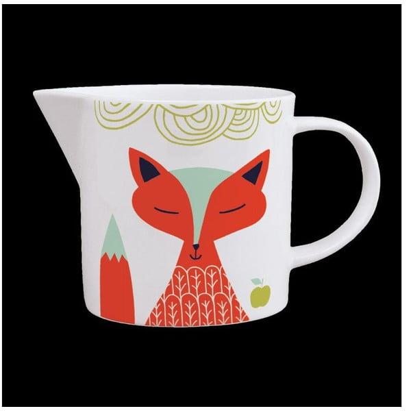 Džbánek z kostního porcelánu Folkland Foxy