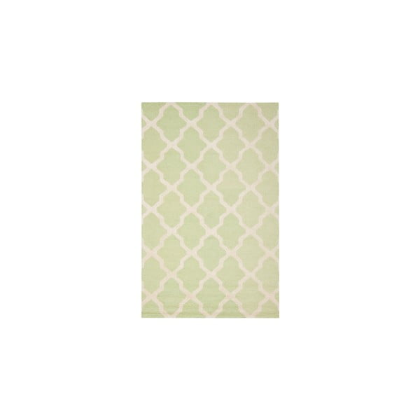 Ava Light Green gyapjúszőnyeg, 182 x 274 cm - Safavieh