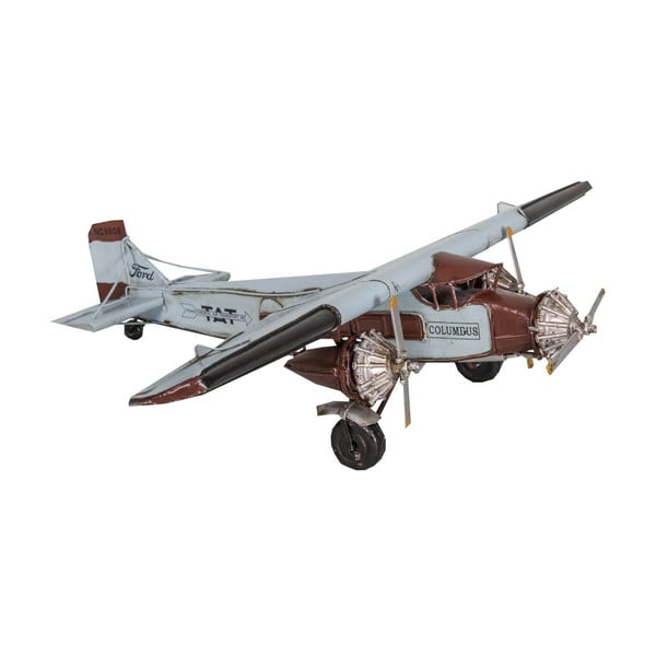 Dekorativní letadlo Antic Line Blue Plane