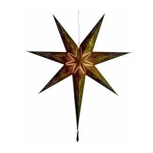 Závěsná svítící hvězda Glansa, 85 cm