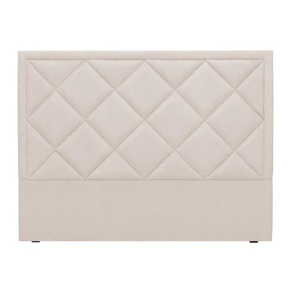 Krémové čelo postele Windsor & Co Sofas Superb, 160 x 120 cm