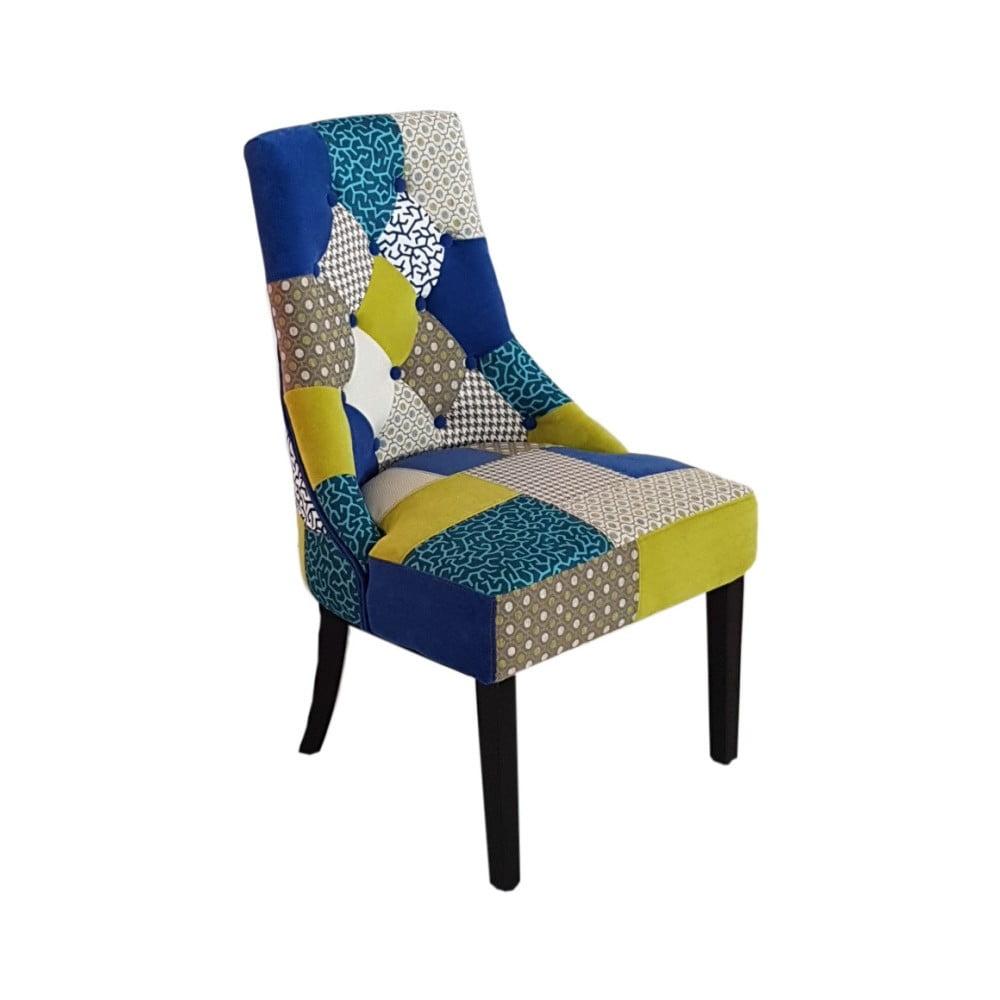 Patchworková jídelní židle Castagnetti Legno