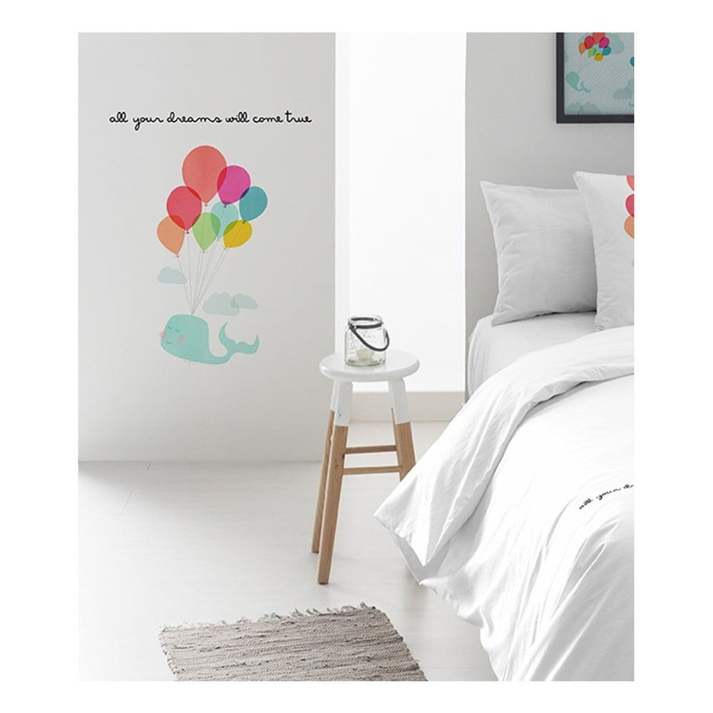 Nástěnná nalepovací dekorace Pooch Flying dreams, 30x42cm