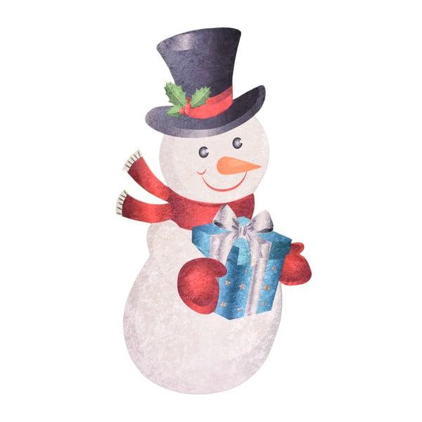 Covor Vitaus Snowman, 60 x 100 cm