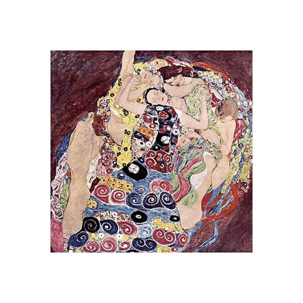 Obraz Gustav Klimt - Virgins, 70x70 cm