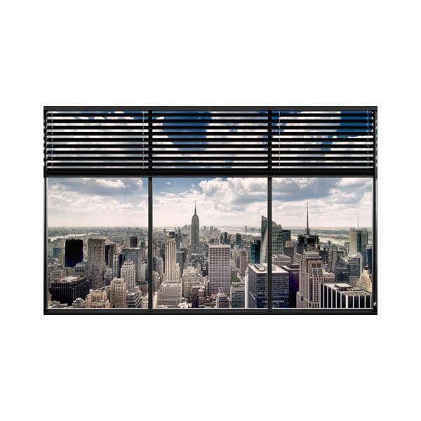 New York Window, 81x51 cm