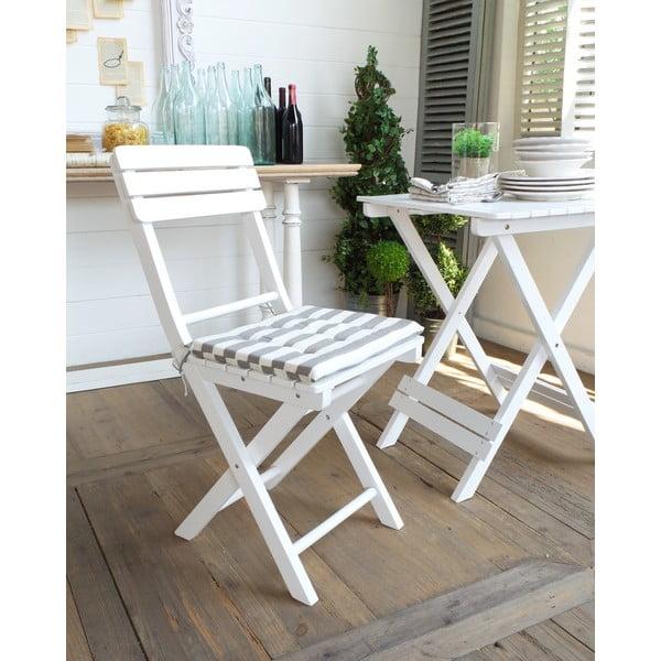 Židle s podsedákem Folding White