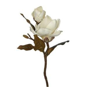 Umělá květina Magnolia White, 43 cm