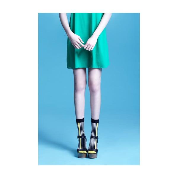 Ponožky Portia Yellow Ankle, vel. 35-38