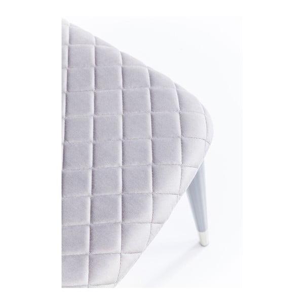 Sada 2 světle šedých jídelních židlí Kare Design Montmartre