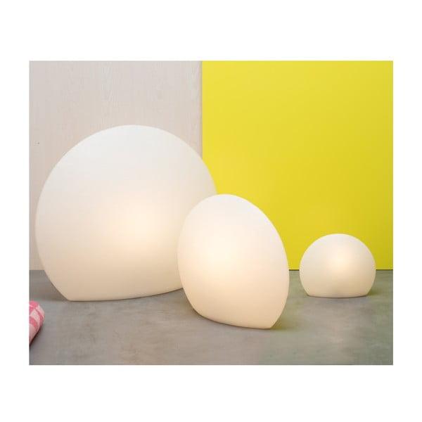 Lampa Eggo 78 cm, bílá