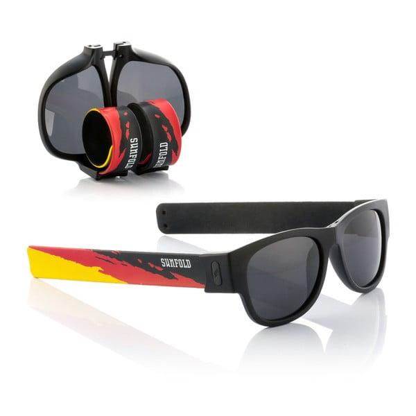 Sunfold Mondial Germany fekete összecsukható napszemüveg - InnovaGoods