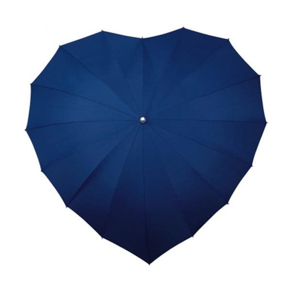 Deštník Navy Blue Heart