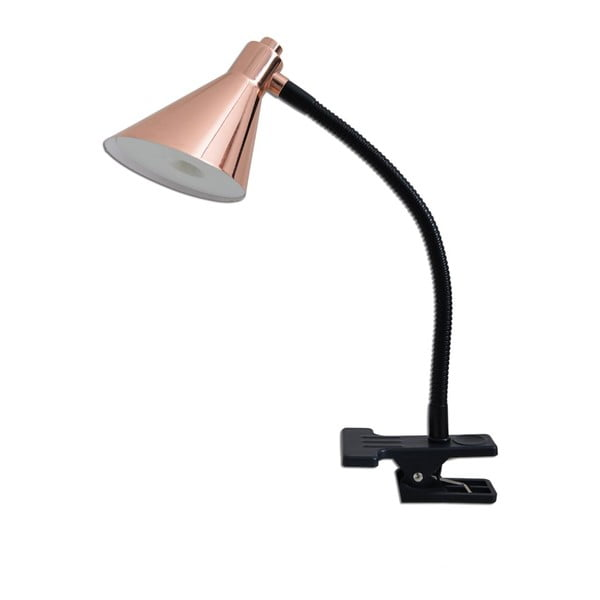 Stolní lampa Naeve Copper Black Clip