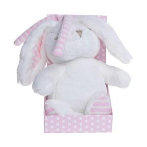 Růžový plyšový hrací králík Ewax Rabbit with Music