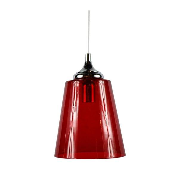 Závěsné svítidlo Lira, červené