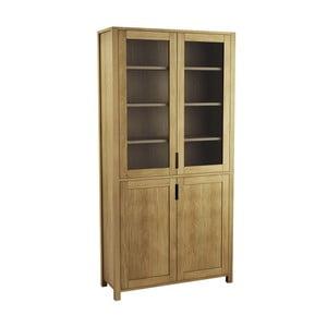 Knihovna z dubového dřeva Fornestas Sims