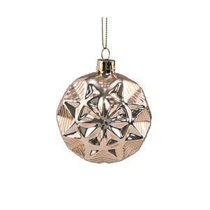 Vánoční závěsná ozdoba ze skla Butlers, ⌀ 8 cm