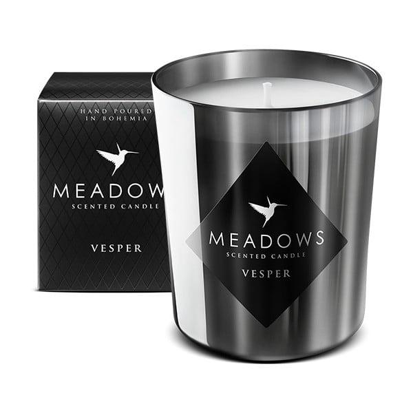 Svíčka s vůní cedru, santalového dřeva, vanilky a feferonky Meadows Vesper, 60hodinhoření