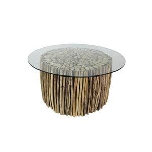 Konferenční stolek z teakového dřeva HSM Collection Saal