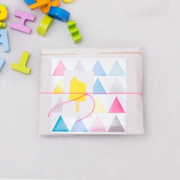 Papírový pytel Happy Dreiecke DIY