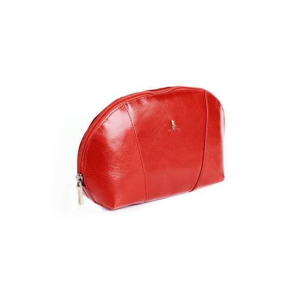 Kožená kosmetická taška Linda Puccini